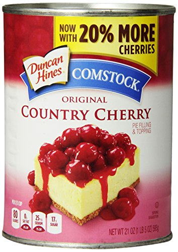 Comstock Cherry Pie Filling - 21 oz