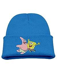 Spongebob Warm Winter Hat Knit Beanie Skull Cap Cuff Beanie Hat Winter Hats Girls