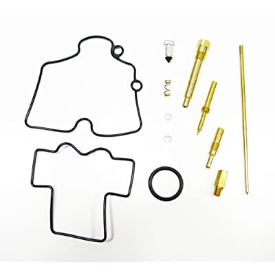 Outlaw Racing OR2495 Carburetor Carb Complete Master Repair Rebuild Kit Yamaha YZ250F 07-08: Automotive