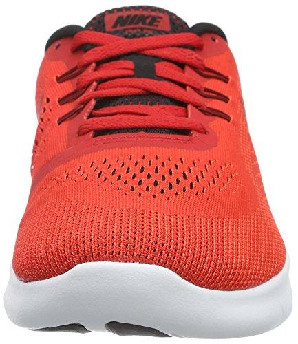 Nike Bambini Rn Gratuito (grande) Rosso Università / Nero-bianco