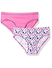 Hanes Big Girl's Ultimate Cotton Stretch 2 Pack Hipster