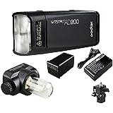 Flash Profissional Godox Witstro Pocket 200w à Bateria - Ad200