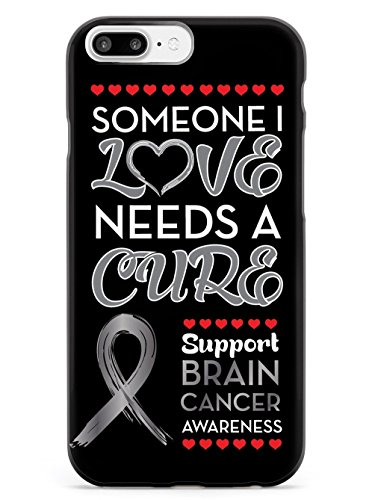 Inspired Cases Someone I love - Brain Cancer Awareness Case - Apple iPhone 8 Plus