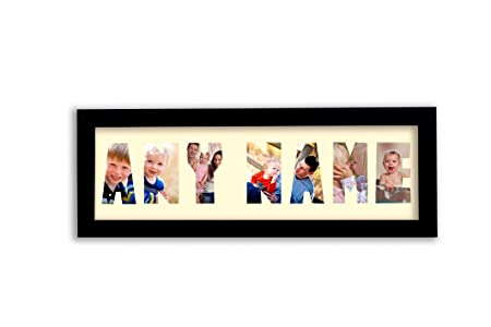 Name Photo Frame up to 10 letters - For More Letters or Style ...