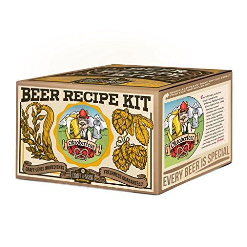 Craft a Brew Ingredient 1 Gallon Oktoberfest Ale Recipe Kit – Make Your Own Beer with Home Brewing 1 Gal for $<!--$26.31-->