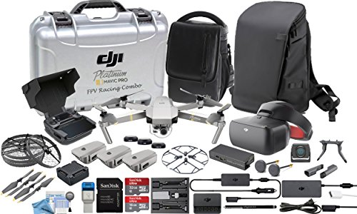 DJI Mavic Platinum Executive FPV Goggles Racing Edition Bundle