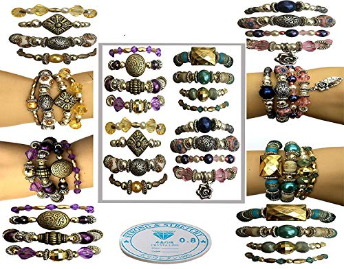 x 16 Bracelet Jewelry Making Kit (Kit Jewellery)