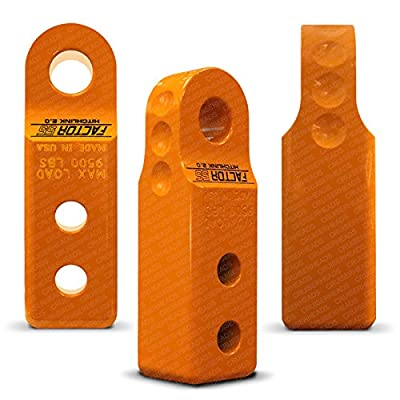 Factor55 HitchLink For 2 inch Receivers - Orange: Automotive