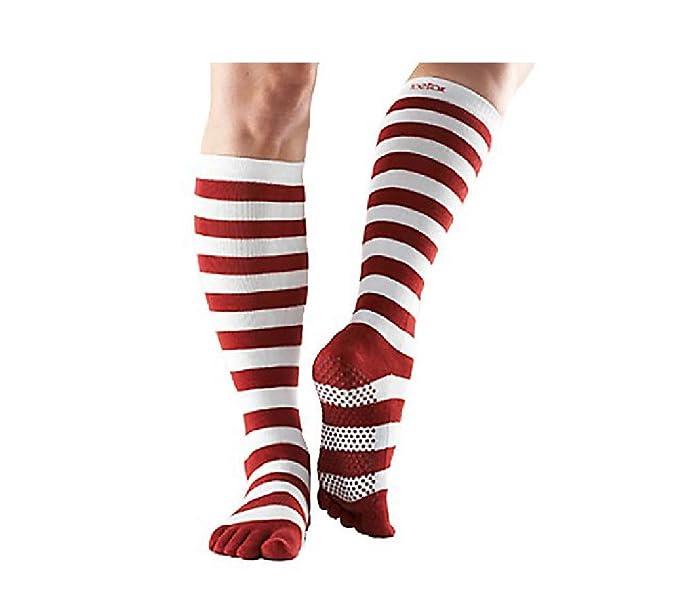 Amazon.com: ToeSox - Calcetines cortos de mujer con agarre ...