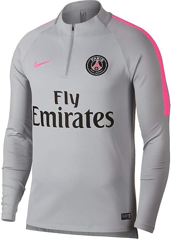 Nike PSG M NK Dry SQD dril Top T Shirt, Homme