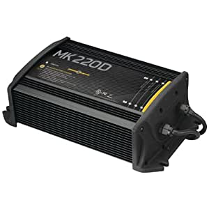 MinnKota MK 220D On-Board Battery Charger (2 Banks, 10 Amps Per Bank)