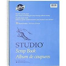 Studio Coil Scrapbook, 14 X 11 Inches, Manila Paper, 20 Sheets (26411)