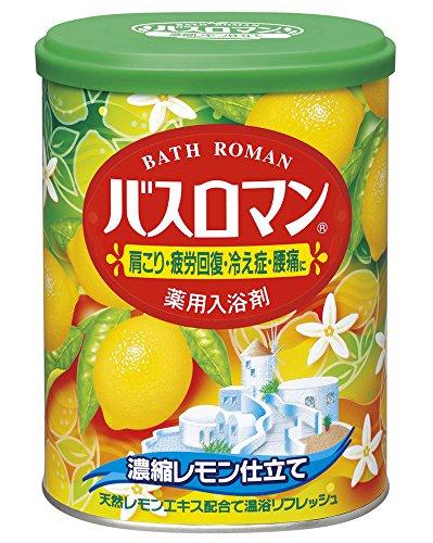 Bath Roman Lemon Japanese Bath Salts - 850g (Scented Bath Herbal Salt)
