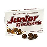Junior Caramels, Movie Theatre Size 3.6 oz (Pack of 8)