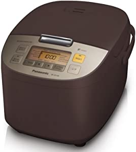 Panasonic SR-ZS185 Electric Rice Cooker 10 cup marroon