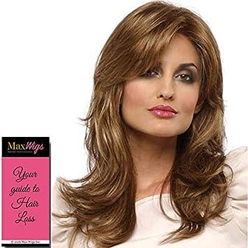 Amazon.com : Monique Wig Color MEDIUM BROWN - Envy Wigs 12 ...