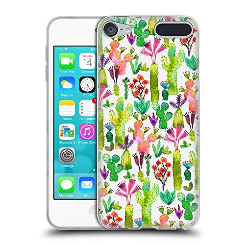 Official Ninola Cactus Garden Botanical 2 Soft Gel Case for Apple iPod Touch 6G 6th Gen ()