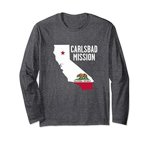Unisex California Carlsbad Mission t-shirt Small Dark - Shopping Carlsbad