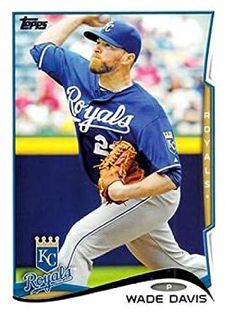 1dfa1d5e38b Amazon.com  2014 Topps Series 2 Baseball  658 Wade Davis Kansas City Royals  Official MLB Trading Card  Collectibles   Fine Art