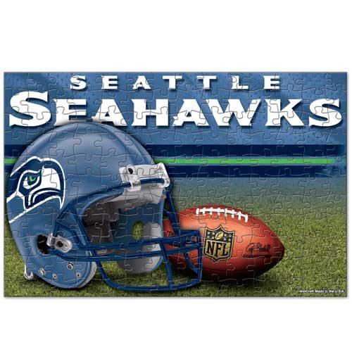 WinCraft NFL Seattle Seahawks Puzzle in Box (150 Piece)