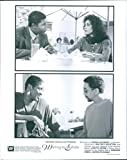 Vintage photo of Dennis Haysbert, Loretta Devine, Whitney Houston and Gregory Hines stars in the film, Waiting to Exhale.
