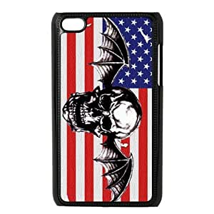 Masq Protective Plastic Back Case for iPod Touch 4 (4th Generation) - A7X Avenged Sevenfold