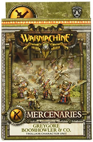 Privateer Press - Warmachine - Mercenary: Boomhowler and Company Model Kit 3