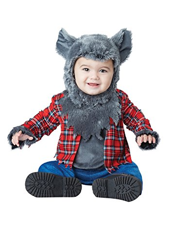 Boys Costumes Wolf (California Costumes Baby Boys' Wittle Werewolf Infant, Multi, 12 to 18)