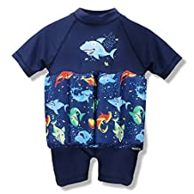 Toddlers Boy Girls Buoyancy swimsuit removable Float Suit Bathing Suit