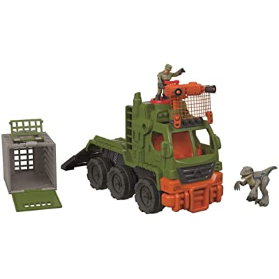 Fisher-Price Imaginext Jurassic World Dinosaur Hauler: Toys & Games