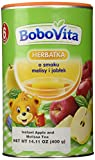 Bobovita Instant Apple & Melissa Refreshing Tea for Babies, 400g/14.11 oz