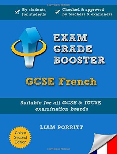 Exam Grade Booster: GCSE French (Revised Colour edition) by Liam Porritt (2014-09-01)