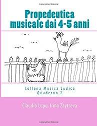 Propedeutica musicale dai 4-5 anni (Musica Ludica)