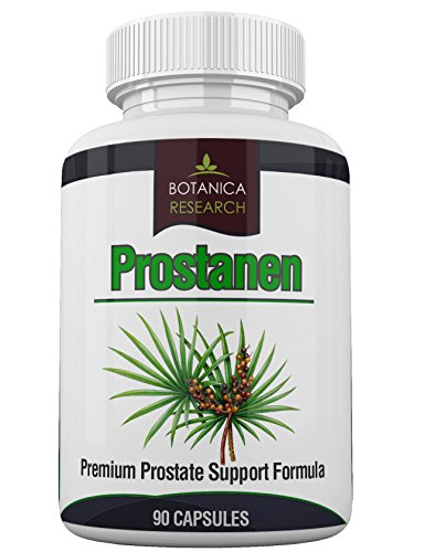 Prostanen: Premium Prostate Support Formula with Endocrine Care Complex with Saw Palmetto Extract Selenium Zinc Cats Claw Graviola Leaf Complete Health Supplement 90 Capsule Pills - Premium Prostate Support Formula