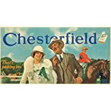 Chesterfield: 3 Posters Vintage Poster (artist: Chambers) USA c. 1922 (24x36 Giclee Art Print, Wall Decor Travel Poster)