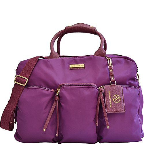 adrienne-vittadini-featherweight-collection-22-multi-pocket-duffle-22-l-x-12-h-x-10-w-raspberry