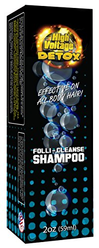 High Voltage Hair Follicle Cleanser Detox Test Shampoo 3 (Best Hair Follicle Detox Shampoo)