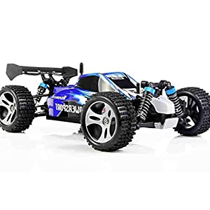 DeXop 1/18 Master Race Cars RC Scale RTR Racing 4WD 2.4G Radio Remote Control Off Road Truck Roadster for Kids