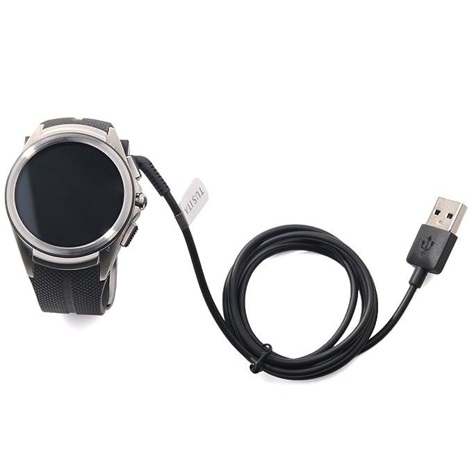 Cargador para reloj LG Urbane segunda edición LTE W200, Repuesto de cable USB de TUSITA®, cable con Clip para reloj LG Urbane de segunda edición LTE W200: ...