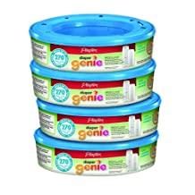 Playtex Diaper Genie Refill 270 count (pack of 4)