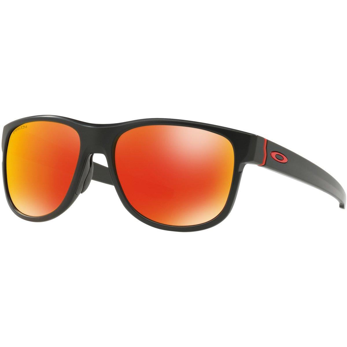 Oakley Crossrange R 935904 Gafas de sol, Matte Black, 57 Hombre