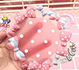cooks tools polka dot - Kicthen Tool Cute Candy Insulation Mat Non-slip Bowl Mat_Polka Dot Bow Pattern 10cm