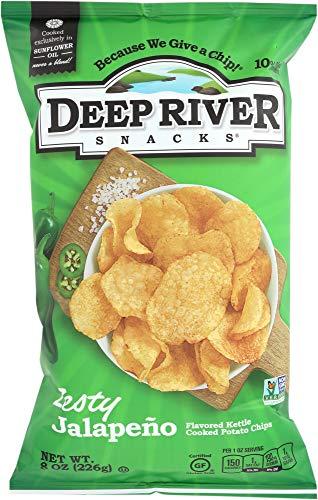 Deep River Snacks (NOT A CASE) Zesty Jalapeño Kettle Chips