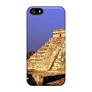 SWHske Fashion Protective Mexico Pyramids Case Cover For Iphone 5/5s