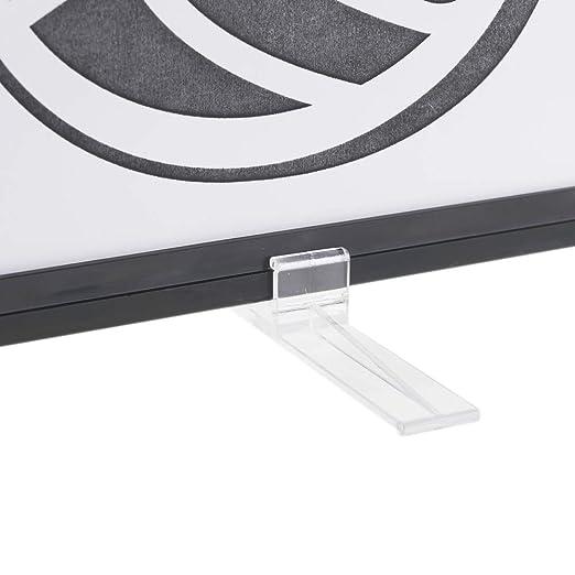 PrimeMatik - Peana para carteles con marco de plástico en ...
