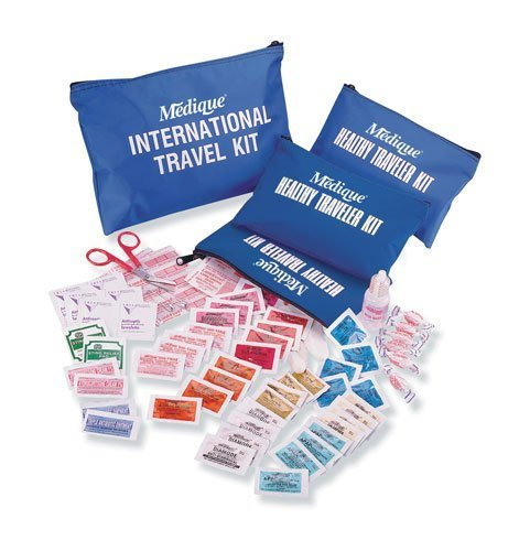 - Medique 76301B Domestic Traveler First Aid Kit with Polybags