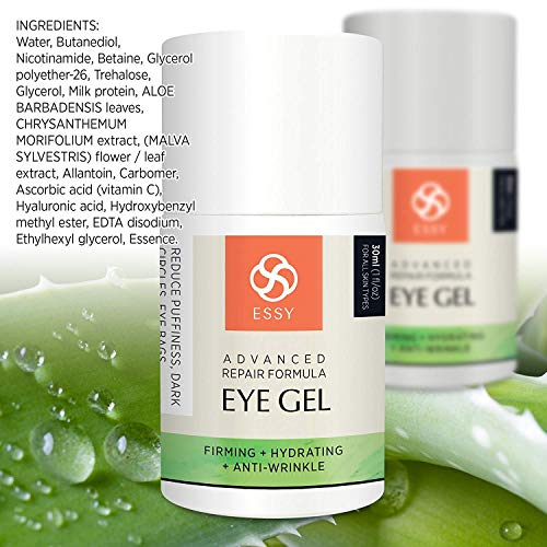 51iDEMbIiZL - Eye Gel for Dark Circles, Puffiness, Wrinkles and Bags,Fine Lines. - The Most Effective Anti-Aging Eye Gel Under and around Eyes- 1 fl OZ