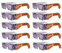 American Paper Optics Holiday Specs 3D Glasses- Look Through Glasses & See Smiley Faces, Snowmen, Snowflakes, Santa, Gingerbread Men, Candy Canes or Reindeer Appear Before Your Eyes! from American Paper Optics