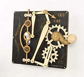 product image for Green Tree Jewelry Single Lever Black Wood Light Switch Plate