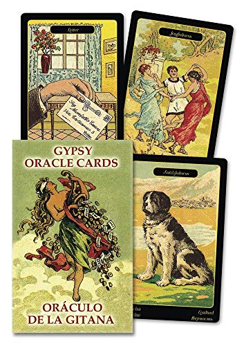 Gypsy Oracle Cards (English and Spanish Edition) (Spanish) Cards – February 8, 2008